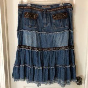 Candies junior denim skirt